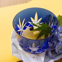 【2015年7月頃のお料理(一例)】夏らしい味をお楽しみください。