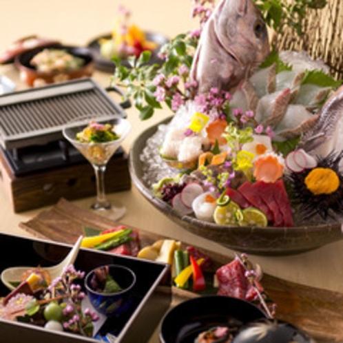 【2015春のお料理(一例)】春の食材を取り入れた会席をご用意いたします。