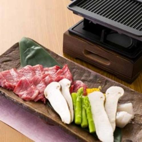 【2015年8月頃のお料理(一例)】お好みの焼き加減で愉しむ焼物