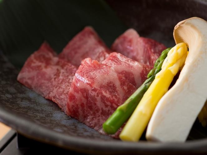 文月の神戸牛料理イメージ