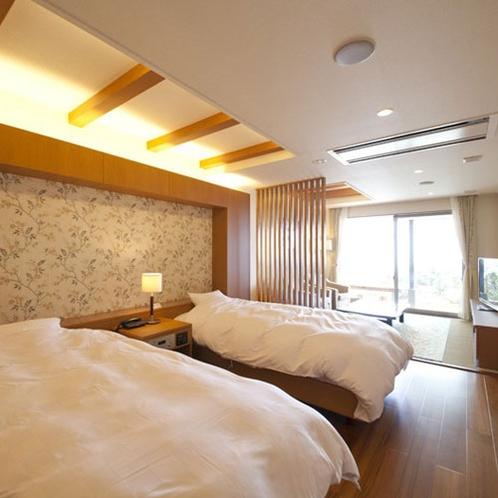 ●1F和洋室 山萩(やまはぎ)<寝室>
