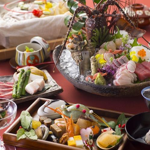 【2016冬のお料理(1月一例)】旬の味はもちろん見た目もお愉しみ頂けます。