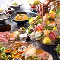 【2016秋のお料理(9月一例)】見るだけで心が躍る華やかさ!秋の訪れにふさわしいお料理の数々。