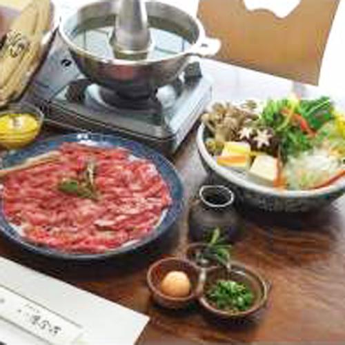*【夕食一例】ブランド牛「遠州夢咲牛」本来の旨みとお茶の香りが絶妙に合います。