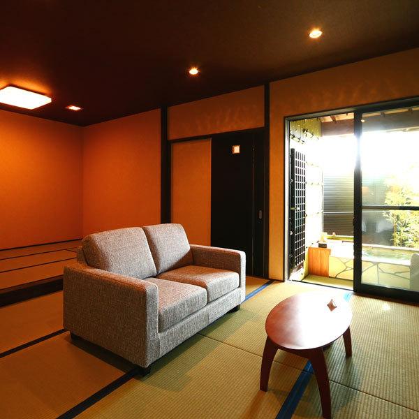 ◆頂天眼◆露天風呂付スィート60m2【セミダブルツイン・和室】