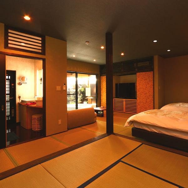 ◆羽衣◆露天風呂付スィート70m2【セミダブルツイン・和室】