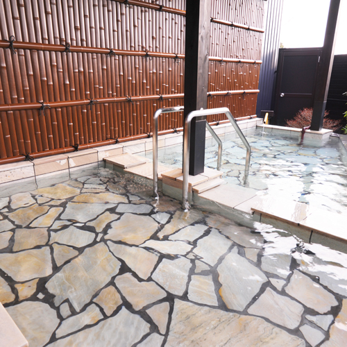 ◆中車◆露天風呂付スィート75m2【セミダブルツイン・和洋室】専用露天