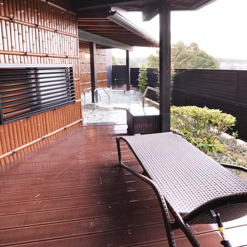 ◆雅◆露天風呂付スィート60m2【キングベッド・和洋室】専用露天