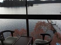 全室レイクビューです!湖がみえる景色をお楽しみください!