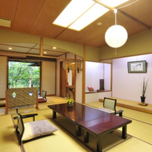 *【客室例】【むらさきの間】広々とした19畳以上の和室です。