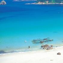 *【下田外浦海岸】美しいブルーに心も癒されます。