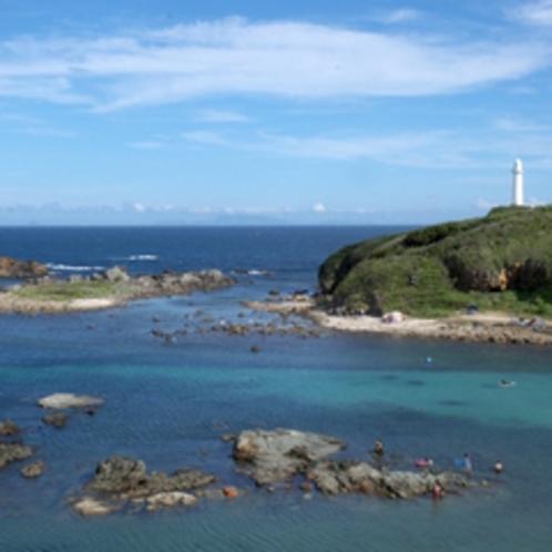 *【下田爪木崎】須崎半島の先端にあり、白亜の灯台がございます。