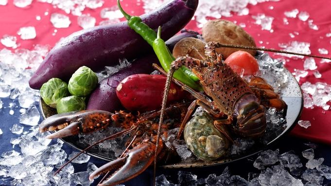 【2食付/鉄板】【開業9周年記念】9月限定特別価格!宮崎牛と旬の伊勢海老の鉄板焼きディナー