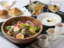 【朝食】健康に気を使っている方におすすめ、サラダスタイル!