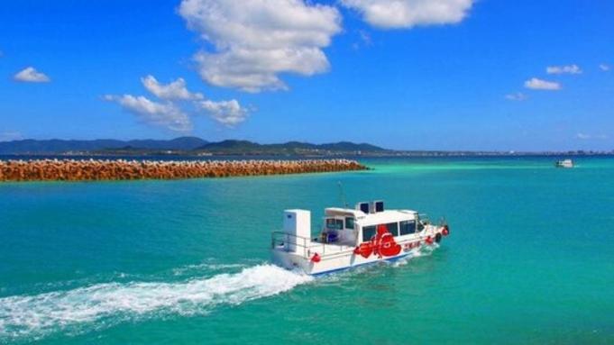 竹富島グラスボート遊覧観光付きプラン 【朝夕食付き】