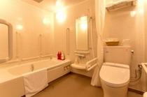 バスルーム(バリアフリーのお部屋)
