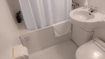 お部屋はユニットバスとなります。※和洋室はお風呂、トイレ別。