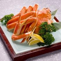 お食事一例 ~蟹の盛り合わせ~