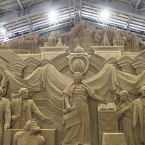 【砂の美術館】エカテリーナ2世とクレム