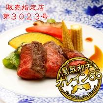 鳥取和牛オレイン55ステーキ