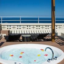-Panorama  suite- ジャグジーバス(屋外)