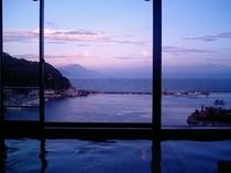 【大浴場(男湯)】夕景