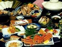 【料理 松葉蟹 カニ三昧】