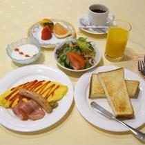 *【洋朝食】人気の朝食は和・洋お好みのメニューをお選びいただけます