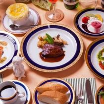 レストランHIMAWARIのメニュー(おまかせコース一例)