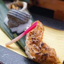 タラバガニ雲丹味噌焼き