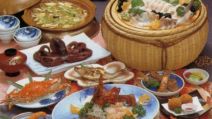 ≪通常+3品≫どーんと海の幸!豪快料理を堪能(漁火コース)