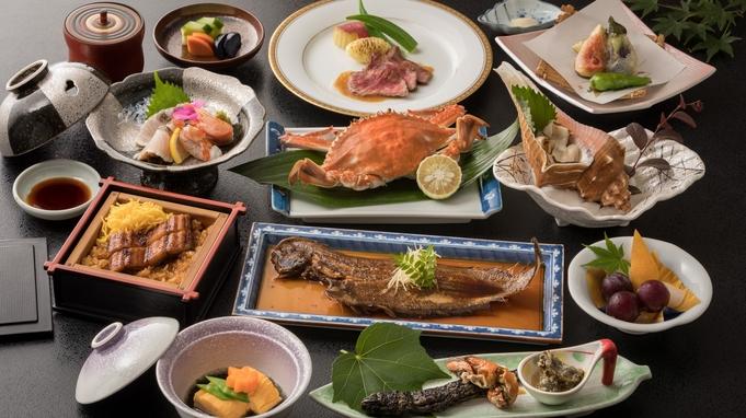 【むつごろう会席】☆郷土料理グルメプラン☆ 柳川和牛ステーキ・鰻のミニせいろ蒸し・渡り蟹付