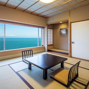 □オーシャンビュー!富士山&駿河湾を一望/和室10帖