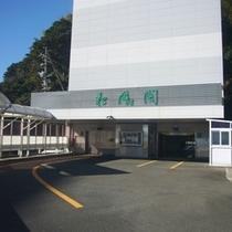 【タワーパーキング入口】