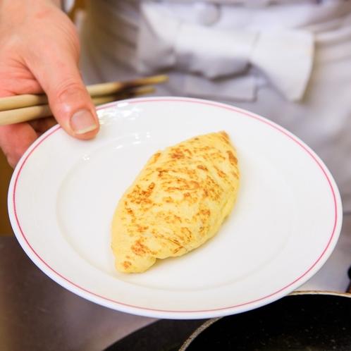 【朝食バイキング・オムレツ】