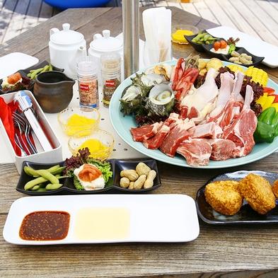 【手ぶらでBBQ】夏の宇佐美を満喫♪-BBQディナー&朝食付-