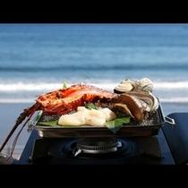 豪華食材を海鮮焼きで楽しむ♪