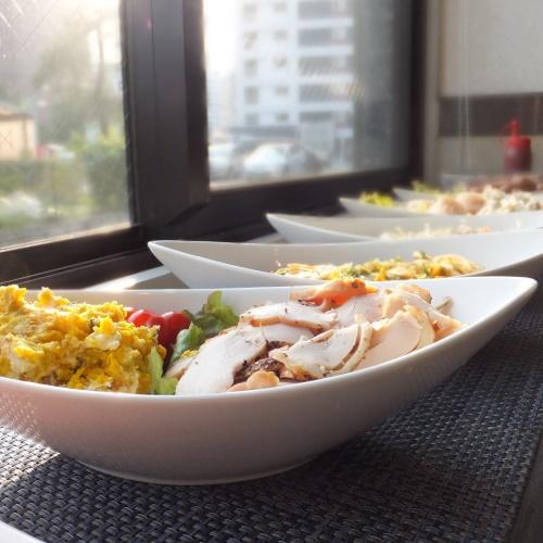 無料朝食ではありますが、品数も多く取り揃えております!