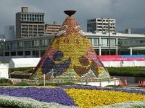 【フラワーフェスティバル】毎年5月3日〜5日は広島で最大のお祭りが開催されます♪