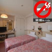 【禁煙】ツインルーム★カップルやファミリーのご利用にオススメのお部屋