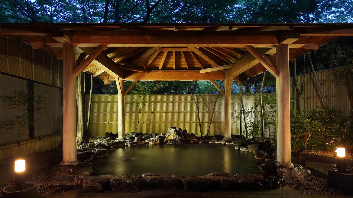 【男性用大浴場】露天風呂
