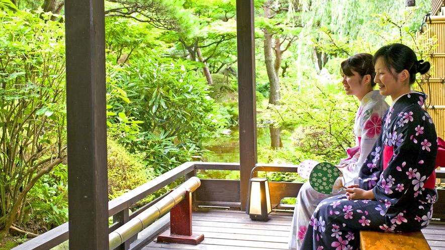【日本庭園イメージ】