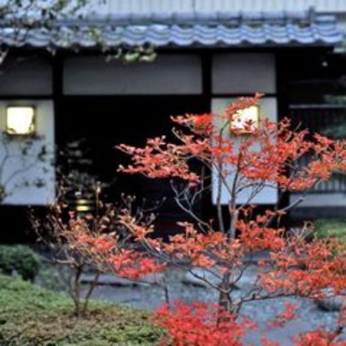 ◆信玄館/秋の中庭※イメージ
