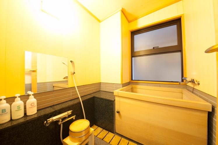 新館渓流沿い和室16畳(1階)バス付・洗浄機能トイレ付