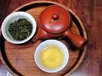 無農薬自家栽培茶。