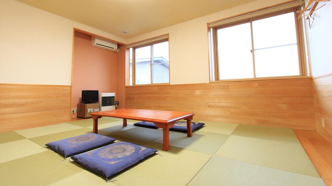 *【客室一例】青森ヒバが香り、清々しい気持ちでお寛ぎ頂けます。