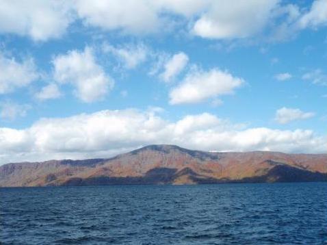 十和田湖 空