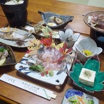 *【夕食一例】十和田の旬の味覚がつまったお食事です。