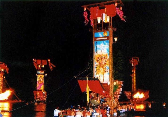 宝立七夕キリコ祭