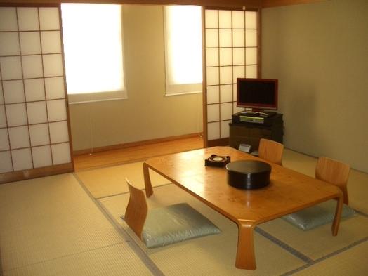 和室と天然温泉の3名素泊まりプラン